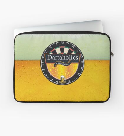 Dartaholics Anonymous Laptop Sleeve