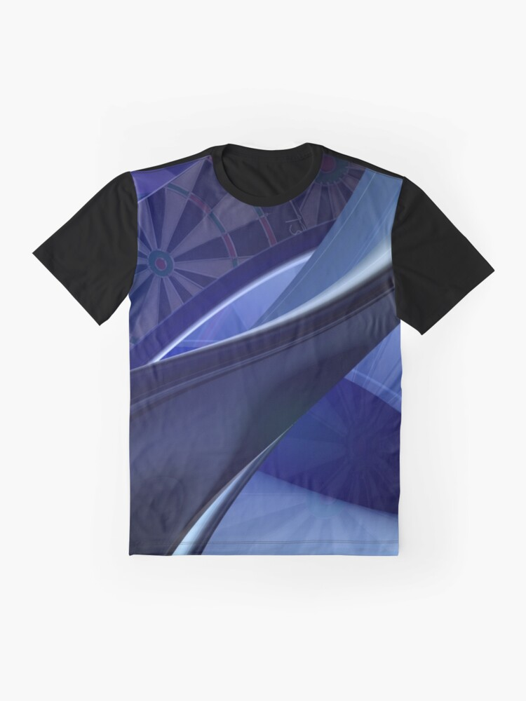 Alternate view of Darts Abyss Graphic T-Shirt