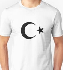 Crescent and Star Unisex T-Shirt