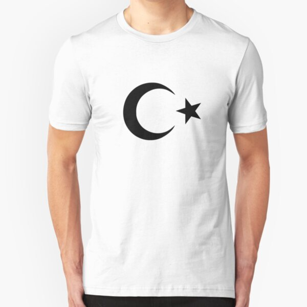 Crescent and Star Slim Fit T-Shirt