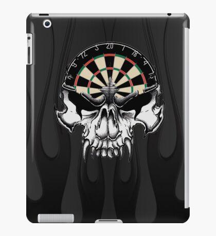 Darts Skull and Flames iPad Case/Skin