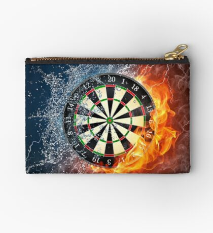 Fire And Ice Dartboard Studio Pouch