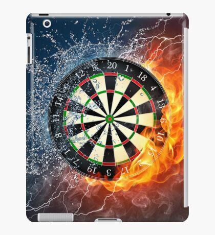 Fire And Ice Dartboard iPad Case/Skin
