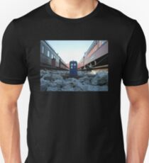 Train Track TARDIS Unisex T-Shirt