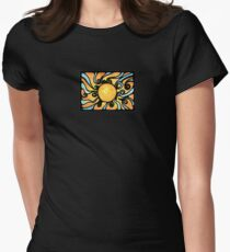 Sunburst Womens Fitted T-Shirt