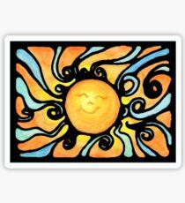 Sunburst Sticker