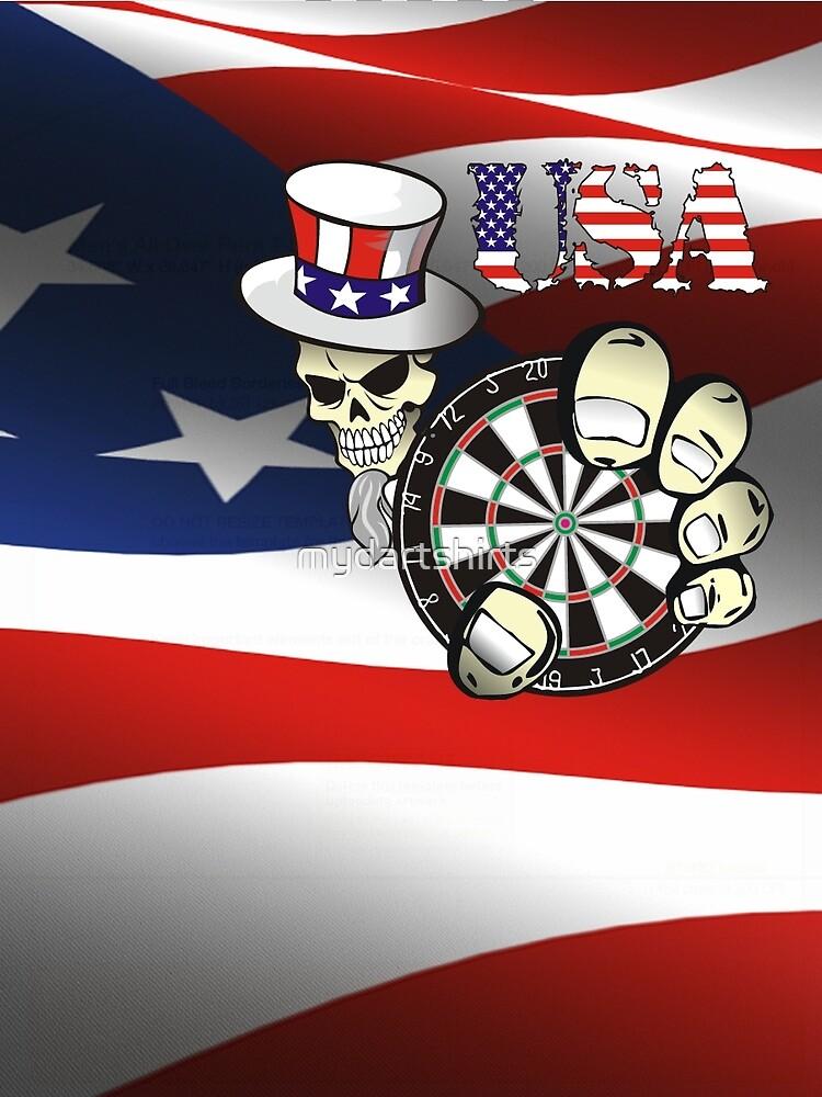 USA Darts by mydartshirts