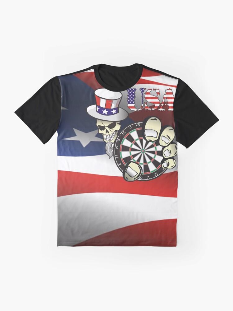 Alternate view of USA Darts Graphic T-Shirt