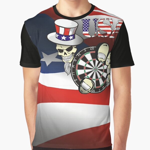 USA Darts Graphic T-Shirt