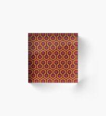 The Shining - Carpet pattern  Acrylic Block