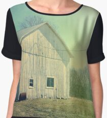 Early Morning in the Country Chiffon Top