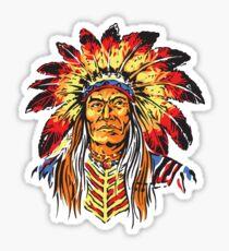 Indian Chief Sticker