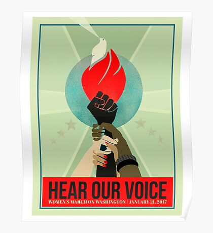 Hear our Voice Poster
