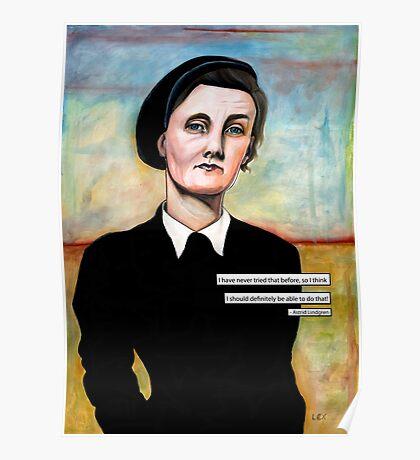 Astrid Lindgren Poster