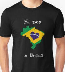Eu Amo O Brasil T-Shirt