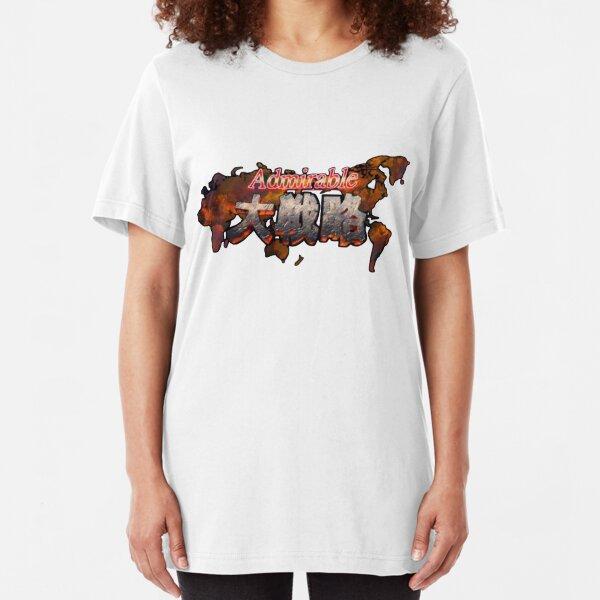 Admirable Tactics T-shirt  Slim Fit T-Shirt