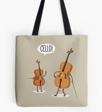 Cello! Tote Bag