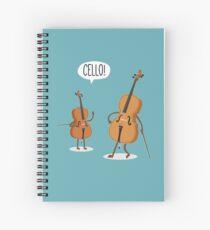 Cello! Spiral Notebook