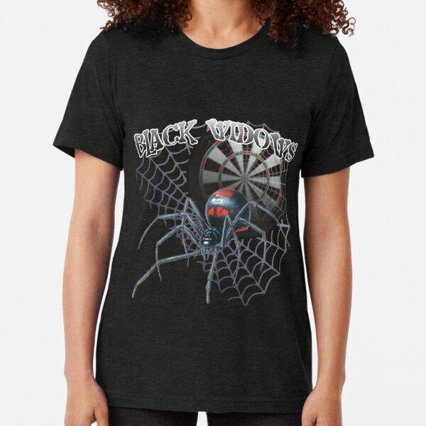Black Widows Darts Shirt Tri-blend T-Shirt