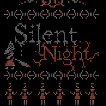 Silent Night ugly christmas by GordonBDesigns