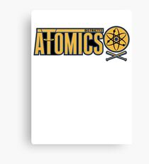 District 13 Atomics Canvas Print
