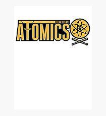 District 13 Atomics Photographic Print
