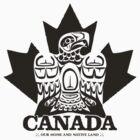 Canada Eagle Black by clemz