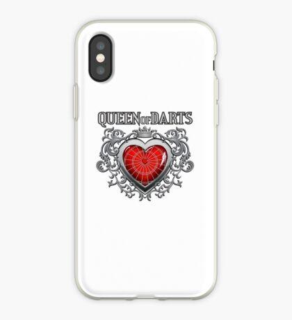 Queen Of Darts iPhone Case