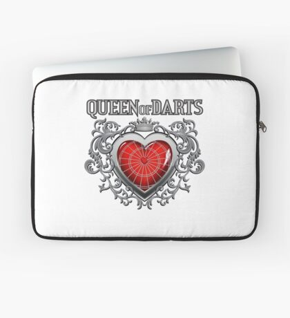 Queen Of Darts Laptop Sleeve