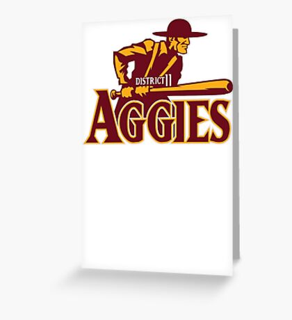 District 11 Aggies Greeting Card