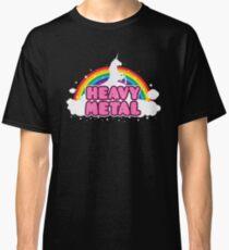 Heavy Metal Unicorn Classic T-Shirt
