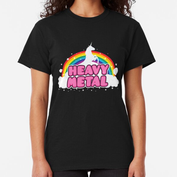 Heavy Metal Unicorn Classic T-Shirt