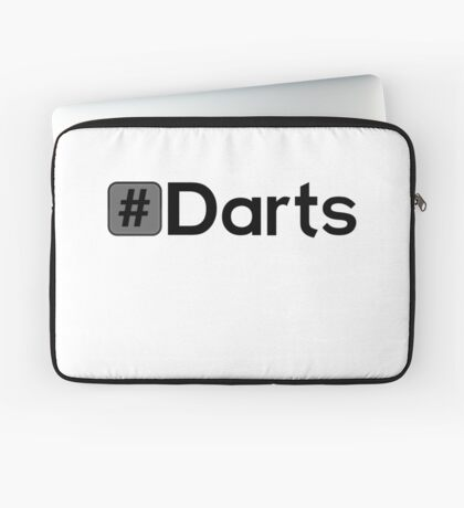 Hashtag Darts Laptop Sleeve