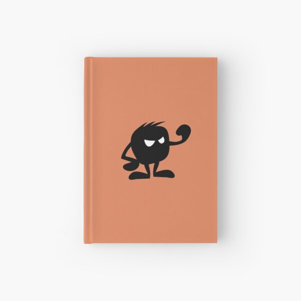BadaBada - A is for Angry Hardcover Journal