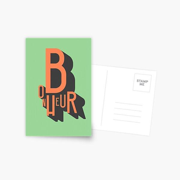 Bonheur Postcard