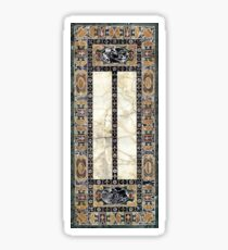 Italian Renaissance Marble Texture Farnese Table Sticker