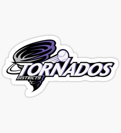 District 9 Tornados Sticker