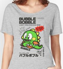 Bubble Bobble (Japanese Art) Women's Relaxed Fit T-Shirt