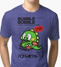 Bubble Bobble (Japanese Art) Tri-blend T-Shirt