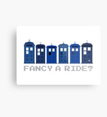 Fancy a ride? Metal Print