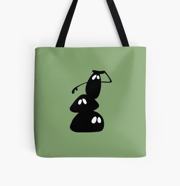 BadaBada - V is for View All Over Print Tote Bag