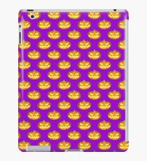 Spooky Jack o' Lantern Pattern iPad Case/Skin