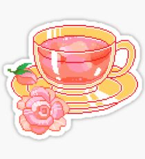 Pixel tea  Sticker