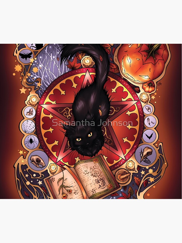 Black Cat Magic by srj-art