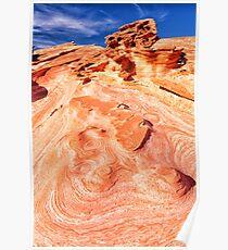 Sandstone Waves Poster