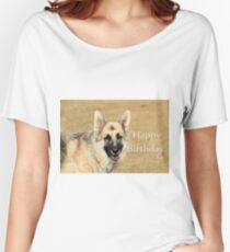 Birthday GSD Women's Relaxed Fit T-Shirt
