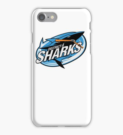 District 4 Sharks iPhone Case/Skin