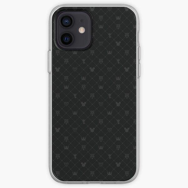 Kingdom Hearts Icons iPhone Soft Case