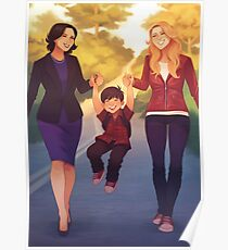 A perfect family Poster
