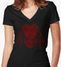 PREDATOR Women's Fitted V-Neck T-Shirt